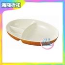 KANO 日式仿木紋三格餐盤 餐盤 餐具 碗盤 日式餐盤 分格餐盤【生活ODOKE】