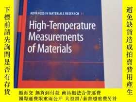 二手書博民逛書店High罕見-Temperature Measurements of Materials(材料的高溫測量)精裝庫存