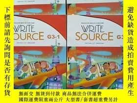 二手書博民逛書店【4本合售罕見近十品 詳情見圖】WRITE SOURCE G3-