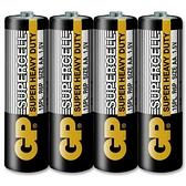 GP 超霸 (黑)超級環保碳鋅電池 3號 4入
