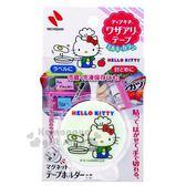 〔小禮堂〕Hello Kitty 日製食物保存膠帶《綠》貼布.密封膠帶 4987167-09095