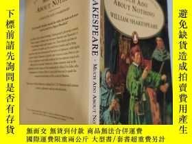 二手書博民逛書店much罕見ado about nothing 無事生非..Y200392
