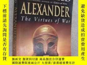 二手書博民逛書店Alexander:The罕見virtues of war 亞歷