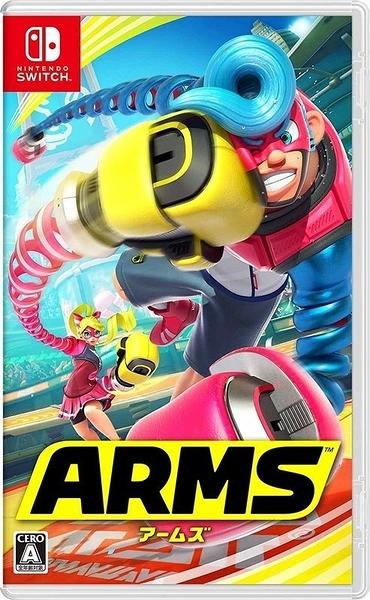 【刷卡】任天堂Switch遊戲【公司貨 神臂鬥士 ARMS 中文版】全新商品