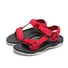 AIRWALK 涼鞋 紅 魔鬼氈 織帶 輕量 減壓 女 (布魯克林) A822230140