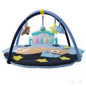新生兒玩具健身架鋼琴爬行墊 益智玩具MP3版 BS21588『毛菇小象』TW