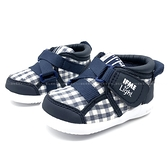 《7+1童鞋》日本 IFME LIGHT系列 高筒 輕量 寶寶 機能鞋 學步鞋 D477 藍色