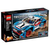 樂高積木 LEGO《 LT 42077 》 Technic 科技系列 - Rally Car 拉力賽車╭★ JOYBUS玩具百貨
