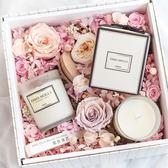 萬聖節快速出貨-進口精油無煙安神香氛香薰蠟燭杯大豆蠟臥室新婚禮物禮盒凈化空氣