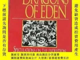 二手書博民逛書店The罕見Dragons of Eden:Speculations on the Evolution of Hum