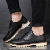 男士皮棉鞋男冬季黑色防水加絨皮鞋男款二棉鞋男新款保暖男鞋   易家樂