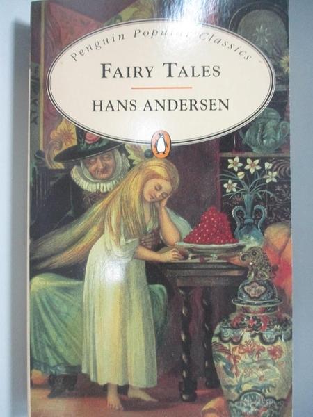 【書寶二手書T1/原文小說_AR1】Fairy Tales _Andersen