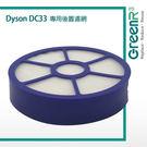 [104美國直購] 戴森 Premium Quality Washable Pre Motor Side Filter Designed to Fit Dyson DC33 Vacuum Cleaners USAFIL418