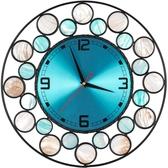 天然貝殼北歐鐘表掛鐘時鐘創意時尚
