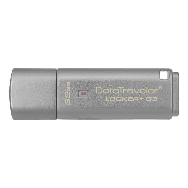 金士頓 KINGSTON DTLPG3 Locker+ 32G鐵灰色 ( DTLPG3/32GB )