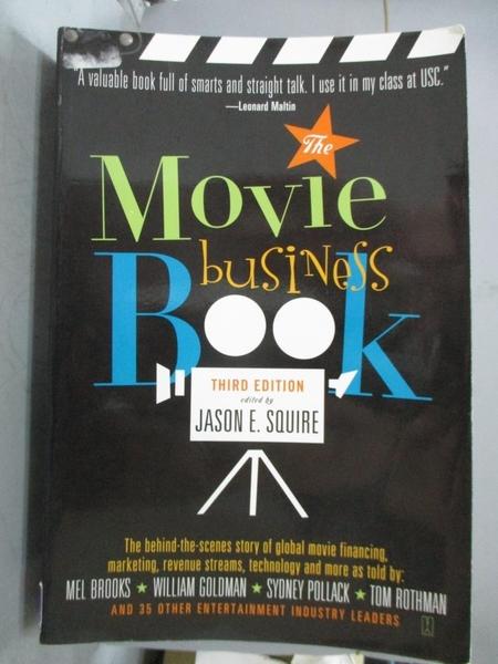 【書寶二手書T9/影視_ZKM】The Movie Business Book_Squire, Jason E. (ED