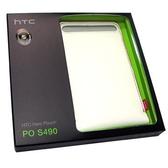 HTC Hero 原廠皮套 PO S490 A6262 英雄機 手拿式 真皮 手機套【采昇通訊】