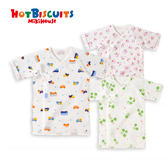 新生兒寶寶全棉綁帶睡衣內衣HOT BISCUITS 【MIKIHOUSE】70-2103-786