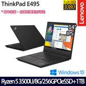 【ThinkPad】E495 20NECTO3WW 14吋AMD四核獨顯商務筆電(三年保固)