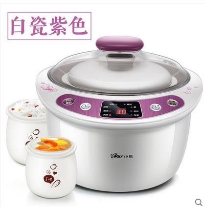 【220V電壓】電燉鍋白瓷隔水燉電燉盅預約迷你寶寶煲湯鍋