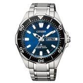 CITIZEN 星辰PROMASTER 黑藍海洋潛水運動流線腕錶/NY0070-83L