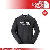 【The North Face 男 羅紋長袖上衣《灰》】3L6U-DYZ/圓領長袖/戶外/保暖