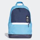 Adidas CLASSIC BACKPACK 背包 後背包 休閒 學生 水壺 藍【運動世界】 DW4764