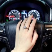 戒指 2020鼠年六爪情侶時尚求婚戒指指環高級感網紅女士時尚鉆戒女仿真 城市科技