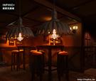 INPHIC- 美式工業復古鏽色做舊吊燈創意個性餐廳咖啡店鐵藝燈-B款_S197C