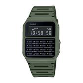 CASIO 手錶專賣店卡西歐 CA-53WF-3B 復古計算機電子錶 橡膠錶帶 全自動日曆 日常生活防水