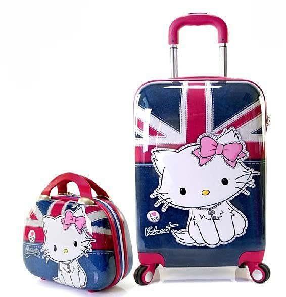 Hello Kitty密碼24寸萬向輪旅行箱【藍星居家】