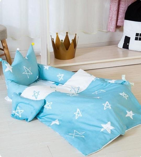 便攜式床中床多功能可摺疊新生兒