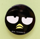 【震撼精品百貨】Bad Badtz-maru_酷企鵝~三麗鷗酷企鵝圓形磁鐵-大臉黑#11978