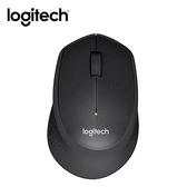 Logitech羅技 靜音無線滑鼠M331-黑【愛買】