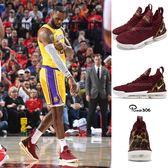Nike Lebron XVI EP King 紅 金 豹紋 16代 襪套式 氣墊 籃球鞋 男鞋 運動鞋【PUMP306】 AO2595-601