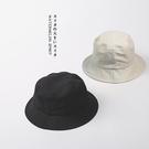客供不易沾水帆布漁夫帽 超軟男女基礎款盆帽夏天
