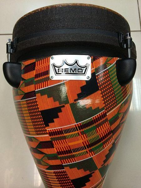 【金聲樂器廣場】全新 美國 REMO 10吋 金杯鼓 可調整鼓皮