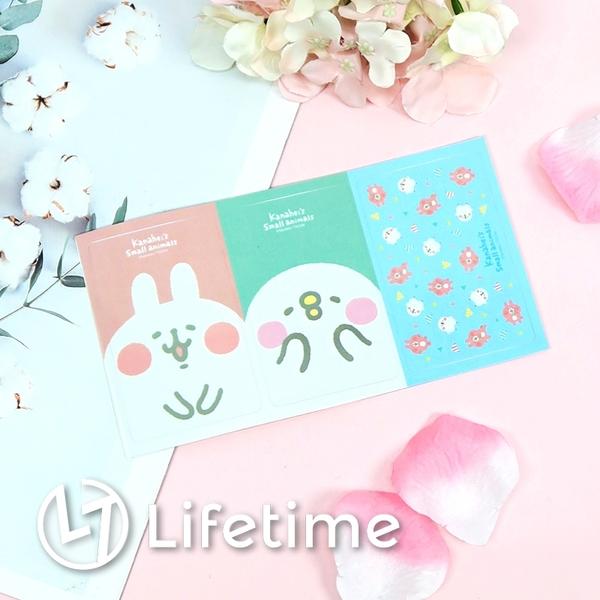 ﹝卡娜赫拉悠遊卡貼紙﹞正版 貼紙 悠遊卡紙 卡通貼圖 文具 兔兔 P助〖LifeTime一生流行館〗