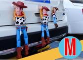 33cm M尺寸  胡迪 胡迪掛飾 汽車裝飾娃娃 裝飾貼 玩具總動員 搞笑胡迪 外部裝飾 公仔 機車吊飾
