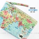 ☆小時候創意屋☆ 泰國品牌 nok nok 地圖 大長方 曼谷包 手挽包 手機包 零錢包 化妝包 筆袋 BKK包