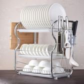 洗碗池槽晾放碗架瀝水架裝碗盤碟架碗筷收納櫃架子家用廚房置物架