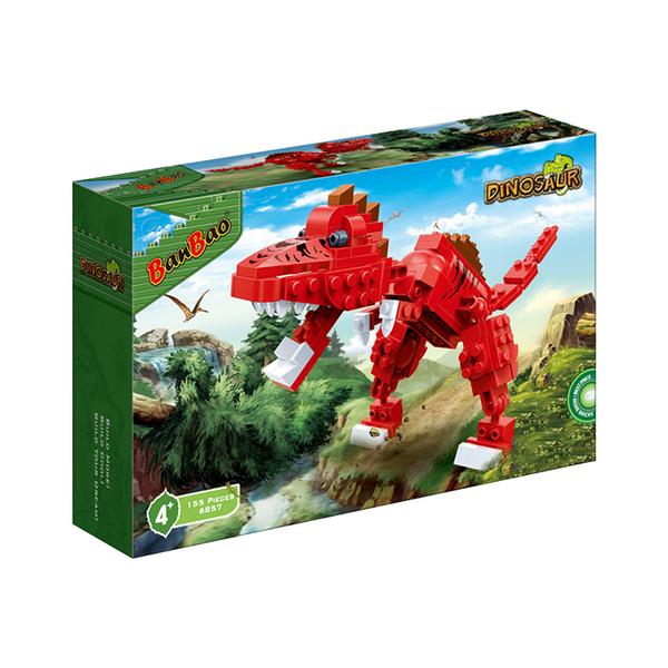 侏羅紀系列 NO.6857霸王龍 電影 恐龍(與市面上積木相容)【BanBao邦寶積木楚崴】