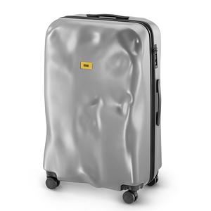 Crash Baggage New Icon 中型行李箱25吋-閃銀
