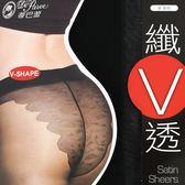 15D 纖V透 全透明彈性絲襪 台灣製 蒂巴蕾