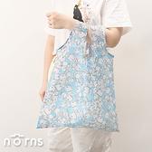 日貨哆啦A夢折疊式環保購物袋 掛勾款- Norns 附小收納袋 日本進口 環保袋 手提袋 Doraemon
