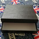 皮包專用禮盒 短夾/長夾 黑色硬紙盒【F9011】