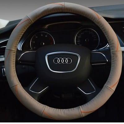 荔枝紋方向盤皮套 方向盤護套 方向盤套  PU BMW BENZ VW TOYOTA SUBARU 沂軒精品 A0157