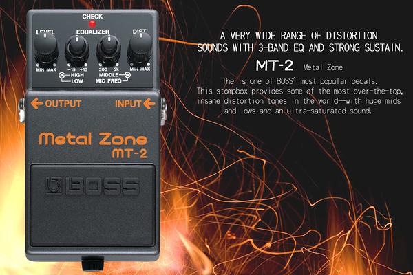 小叮噹的店 - 效果器 BOSS MT-2 效果器 破音 distortion