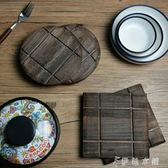 創意木質隔熱墊 餐桌防燙隔熱木餐墊  伊鞋本鋪