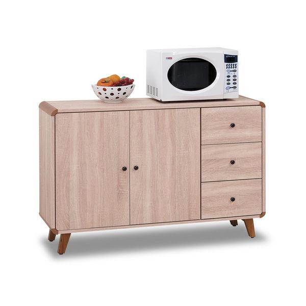 餐櫃【時尚屋】[G17]柏克4尺碗櫃下櫃G17-A297-1免組裝/免運費/餐櫃